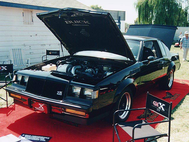 T-Type, Grand National, GNX Production Figures