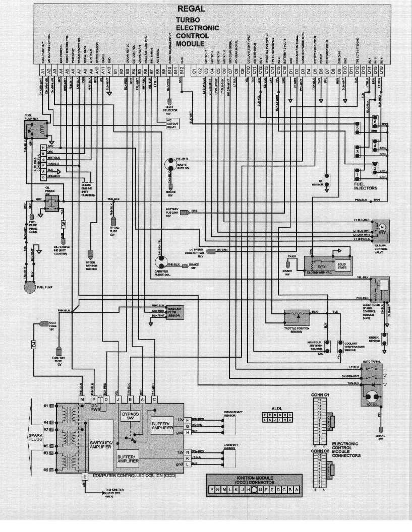 1980 Turbo Trans Am Wiring Diagram For Light Switch 1981 Pontiac Fuse Box Ecm And Sensor Information Rh Gnttype Org 1978 Dash