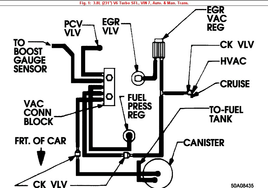 buick 231 v6 engine diagram
