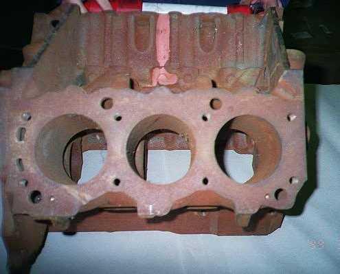 St Bore on Chevy 3 4 Engine Knock Sensor Location