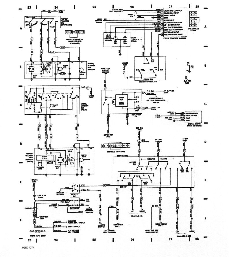 cruise_directionals_wipers wiring diagrams 1998 Oldsmobile Wiring Diagram at soozxer.org