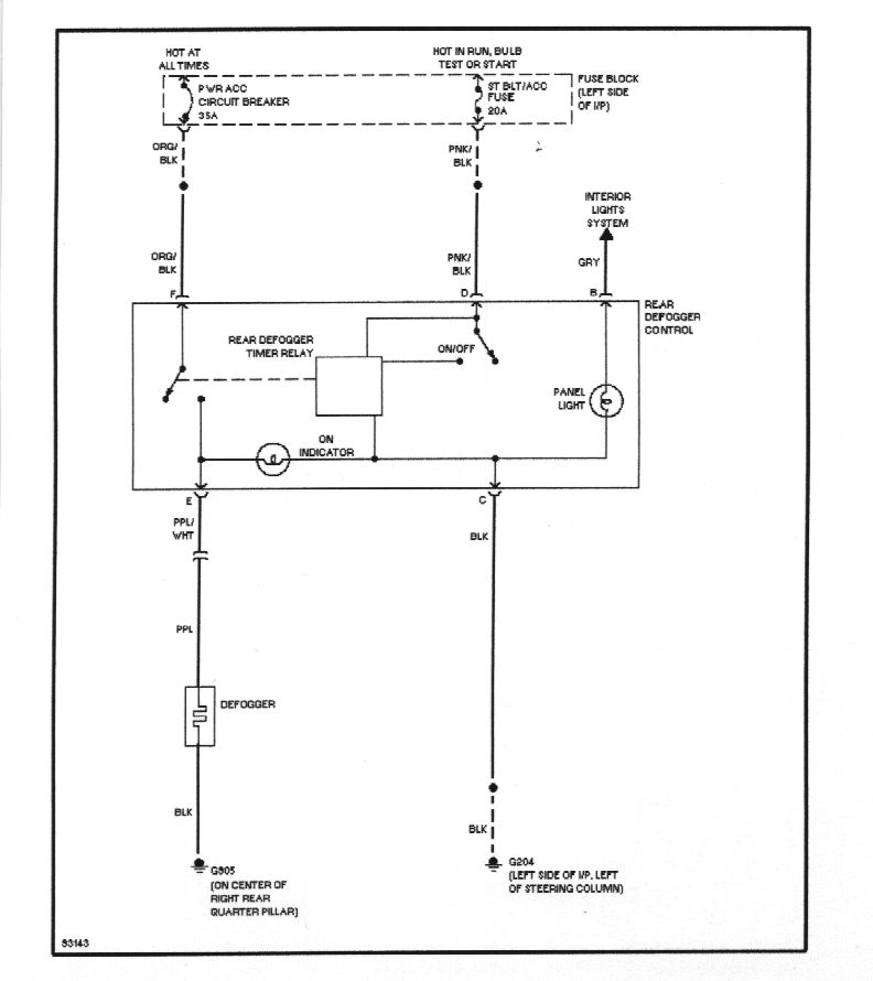 defogger_circuit 5709l wiring diagram diagram wiring diagrams for diy car repairs defrost termination thermostat wiring diagram at panicattacktreatment.co