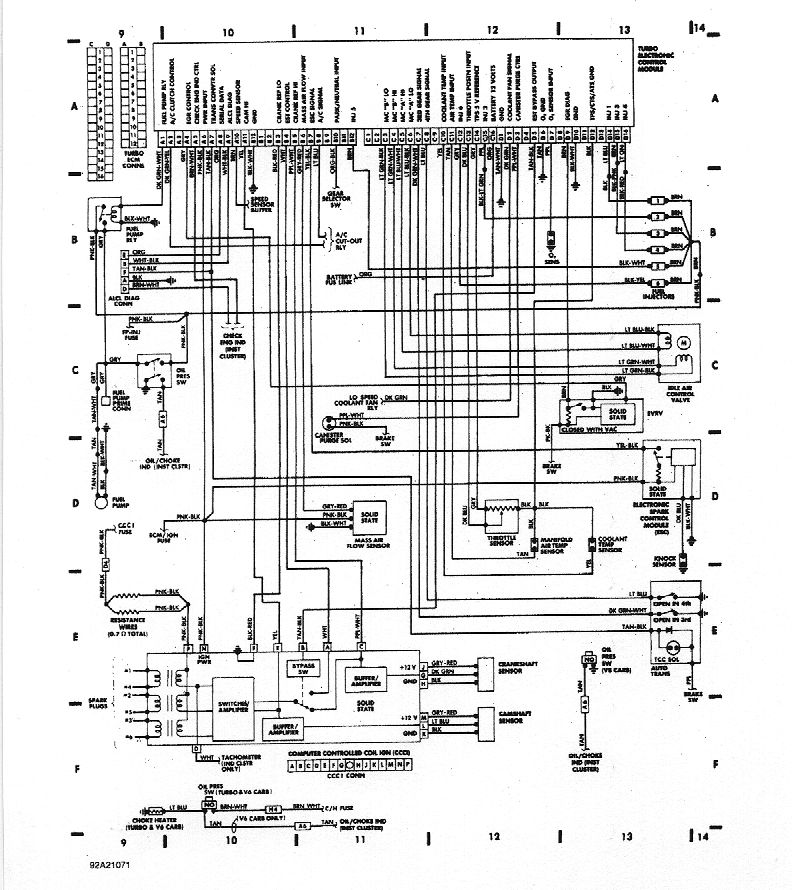 78 trans am wiring diagram