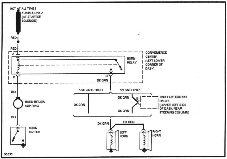 wiring diagrams 2000 Buick Regal Wiring Schematic