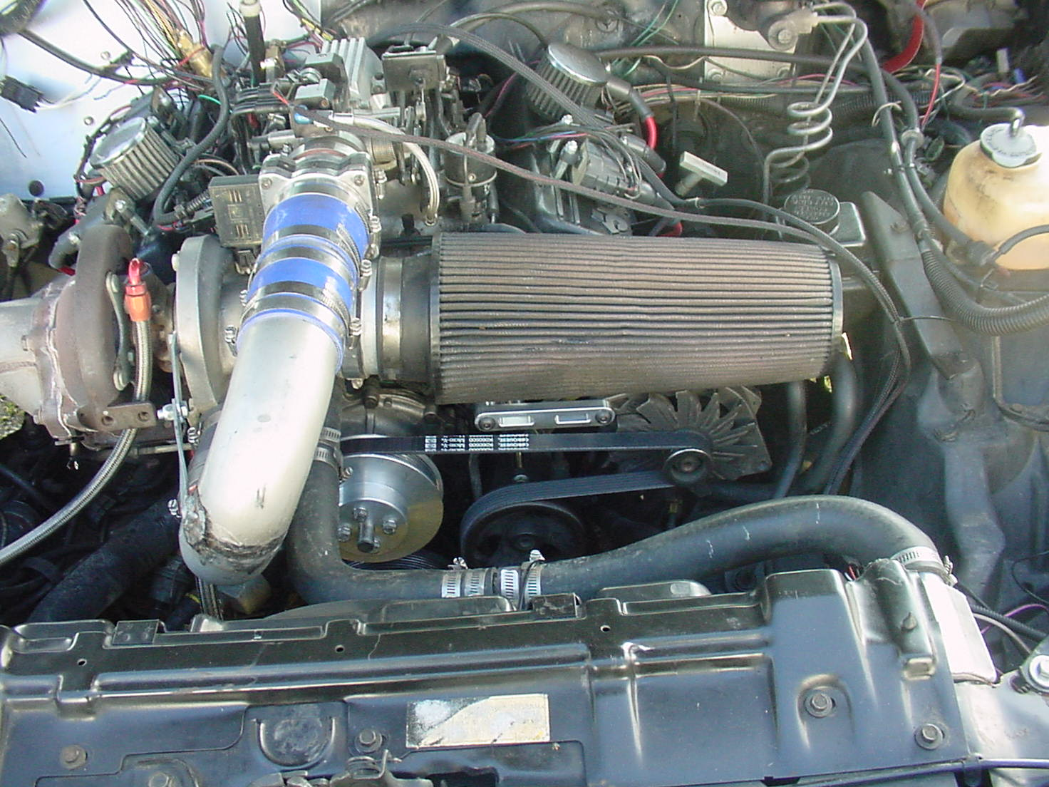 Removing the Intercooler